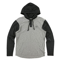 O'Neill The Bay Hooded Henley Mens Hoodie, Grey, 256