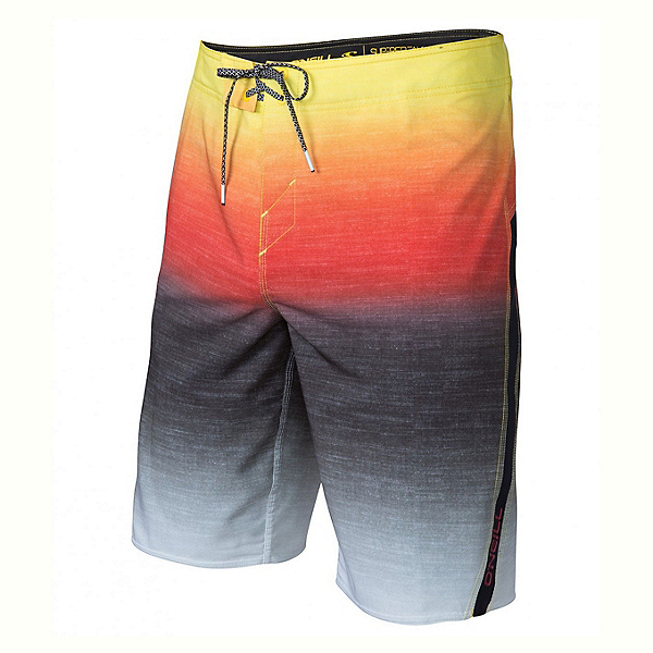 O'Neill Superfreak Fader Mens Board Shorts, Red, 600
