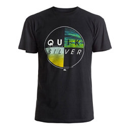 Quiksilver Blazed Mens T-Shirt, Black, 256