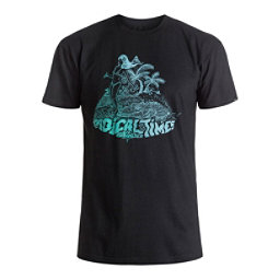Quiksilver Crocoride Mens T-Shirt, Black, 256