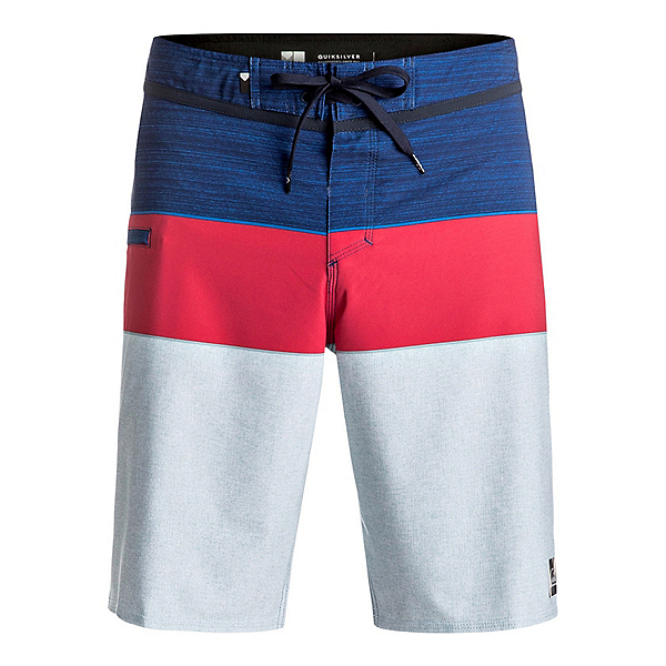 Quiksilver Everyday Blocked Vee Mens Board Shorts, Estate Blue, 600