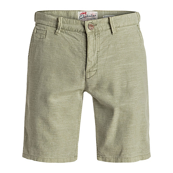 Quiksilver Greenwood Cutty Mens Shorts, Indian Teal, 600