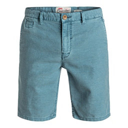 Quiksilver Greenwood Cutty Mens Shorts, Iceberg Green, 256