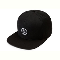 Volcom Quarter Twill Hat, Black, 256