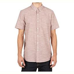 Volcom Everett Oxford Mens Shirt, Mauve, 256