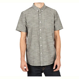 Volcom Everett Oxford Mens Shirt, Black, 256