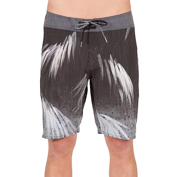 Volcom Bamboozle Mod Mens Board Shorts, Black, 600