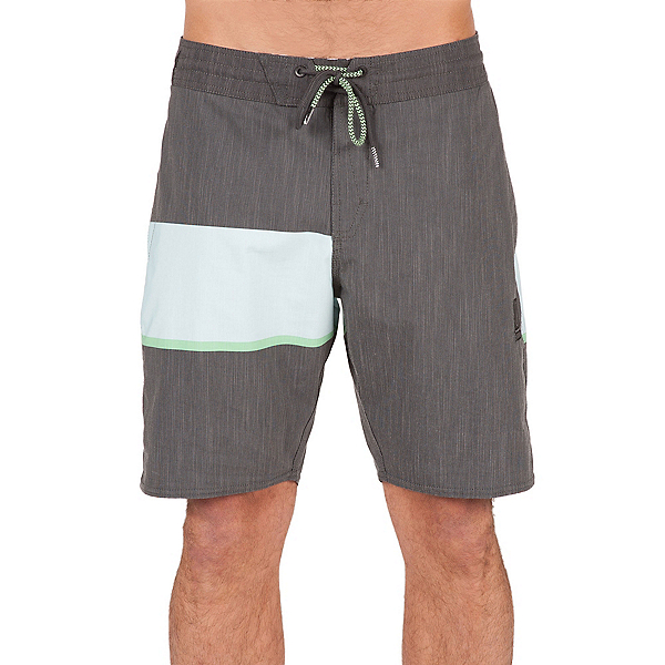 Volcom 3 Quarta Slinger Mens Board Shorts, Stealth, 600