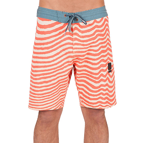 Volcom Mag Vibes Slinger Mens Board Shorts, Papaya, 600