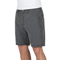 Volcom Surf N Turf Faded Mens Hybrid Shorts, Black, 256