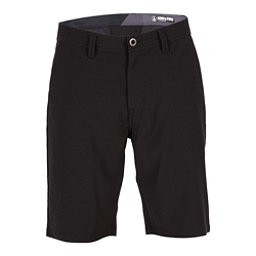Volcom Surf N Turf Frickin Static Mens Hybrid Shorts, Blackout, 256