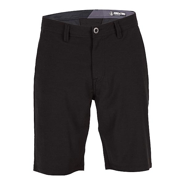 Volcom Surf N Turf Frickin Static Mens Hybrid Shorts, Blackout, 600
