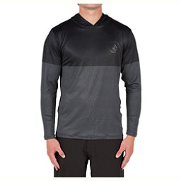 Volcom Distortion Block Mens Rash Guard, Stealth, 256