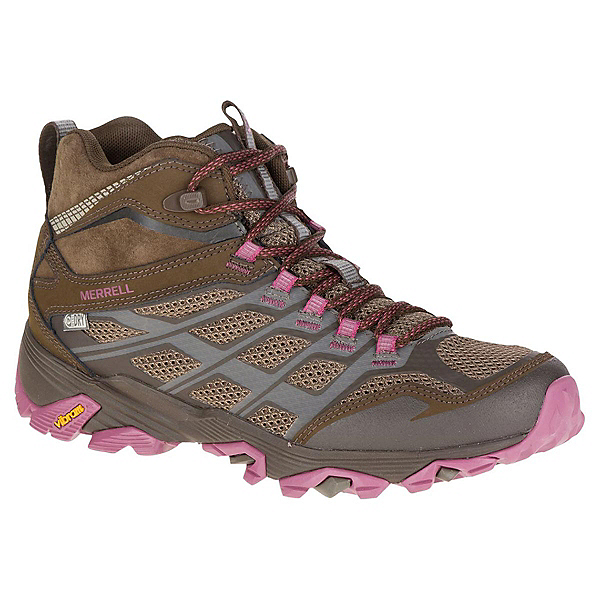 Merrell Moab FST Mid Waterproof Womens Shoes, , 600