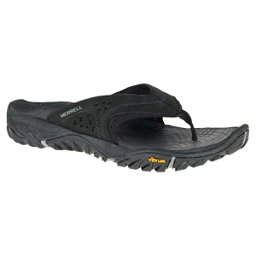 Merrell All Out Blaze Mens Flip Flops, Black, 256