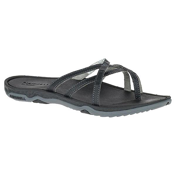 Merrell Enoki 2 Womens Flip Flops, Black, 600