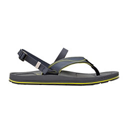Astral Filipe Mens Flip Flops, Navy-Green, 256