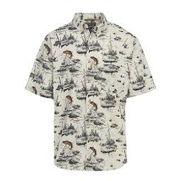 Woolrich Walnut Run Mens Shirt, Wool Cream, 256
