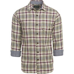 Woolrich Weekend Eco Rich Double Weave Mens Shirt, Grassland, 256