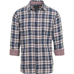 Woolrich Weekend Eco Rich Double Weave Mens Shirt, Deep Indigo, 256
