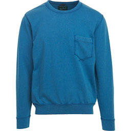 Woolrich Crescent Lake Terry Crew Mens Sweatshirt, Blue Jay, 256