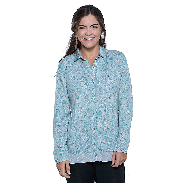 Toad&Co DeBug Hike-Thru Long Sleeve Womens Shirt, , 600