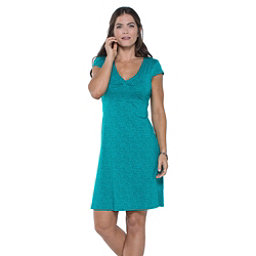 Toad&Co Rosemarie Dress, Turquoise Cove Geo Print, 256