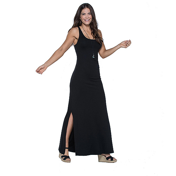 Toad&Co Montauket Long Dress, Black, 600