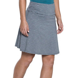 Toad&Co Chaka Skirt, Smoke Lean Stripe, 256