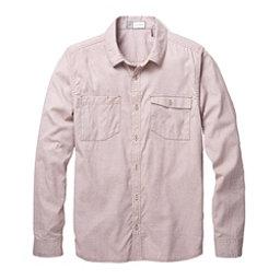 Toad&Co DeBug Riverbound Long Sleeve Mens Shirt, Seal Brown, 256