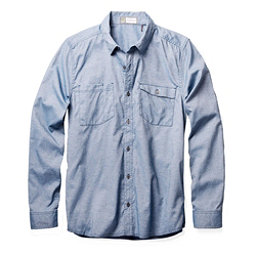 Toad&Co DeBug Riverbound Long Sleeve Mens Shirt, Blue Abyss, 256
