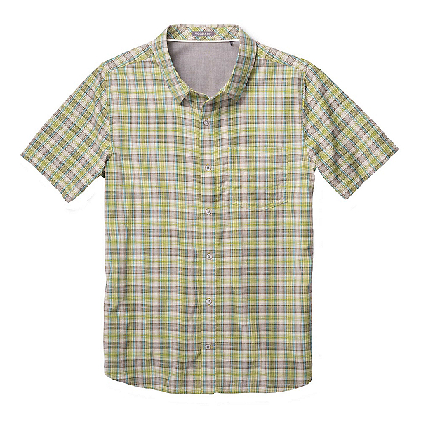 Toad&Co Airscape Short Sleeve Mens Shirt, Iguana, 600