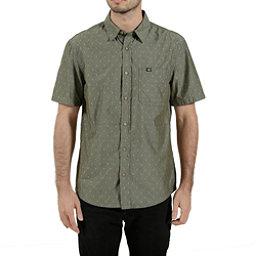 Tentree Borneo Mens Shirt, Olive Night, 256