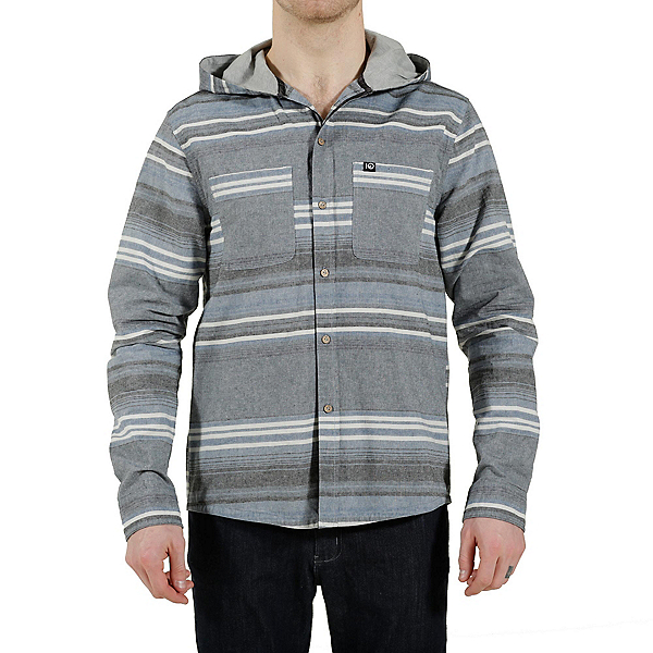Tentree Okapi Mens Shirt, Dusty Blue, 600