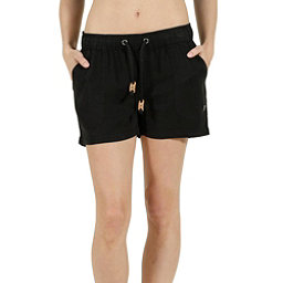 Tentree Instow Womens Shorts, Black, 256