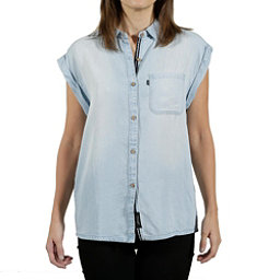 Tentree Sapindale Womens Shirt, Light Wash, 256