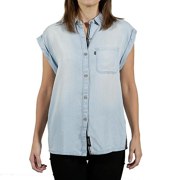 Tentree Sapindale Womens Shirt, Light Wash, 600