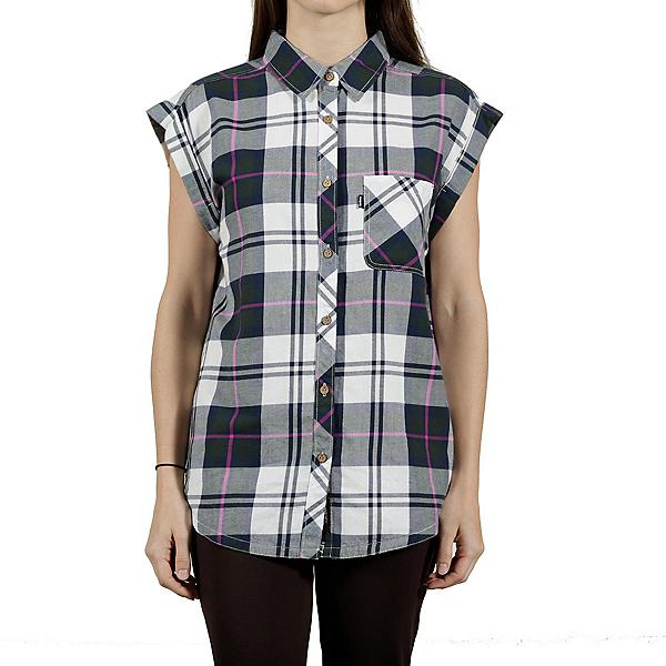 Tentree Mallow Womens Shirt, Moss, 600
