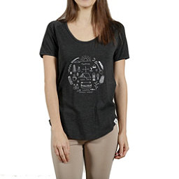 Tentree Circle Womens T-Shirt, Black, 256