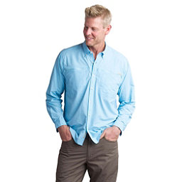 ExOfficio Atoll Long Sleeve Mens Shirt, Sky, 256