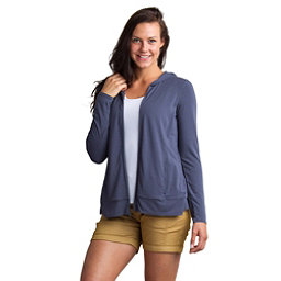 ExOfficio Sol Cool Crossback Womens Hoodie, Carbon, 256