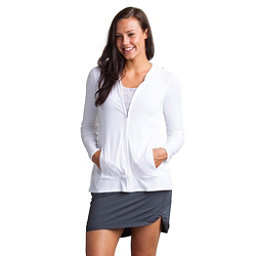 ExOfficio Sol Cool Crossback Womens Hoodie, White, 256