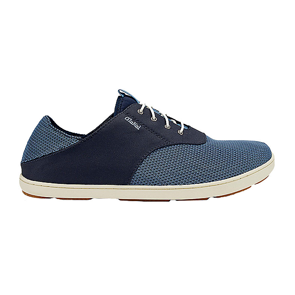 OluKai Nohea Moku Mens Shoes, Trench Blue-Trench Blue, 600
