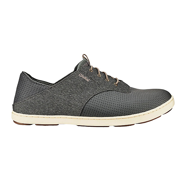 OluKai Nohea Moku Mens Shoes, Charcoal-Clay, 600