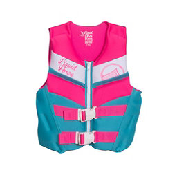 Liquid Force Dream Junior Life Vest 2018, Blue-Pink, 256