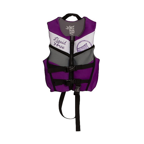 Liquid Force Dream Toddler Life Vest 2019, Purple, 600