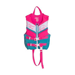 Liquid Force Dream Toddler Life Vest 2018, Blue-Pink, 256