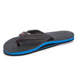 Rainbow Sandals Premier Blues Mens Flip Flops, Premier Black, 256