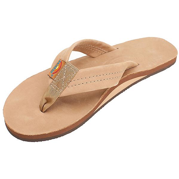 Rainbow Sandals Premier Leather Womens Flip Flops, Sierra Brown, 600