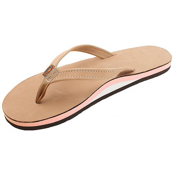 Rainbow Sandals The Tropics Womens Flip Flops, Sierra-Melon, 600